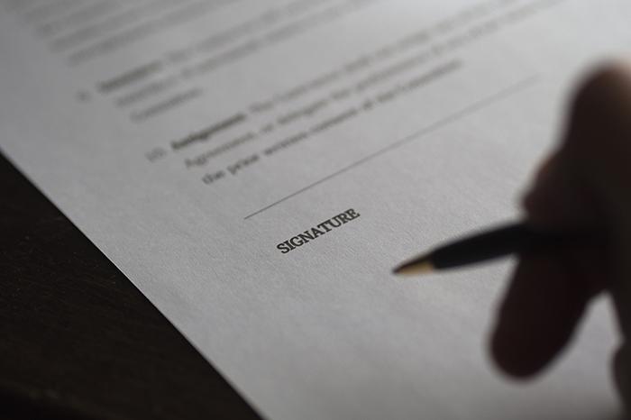 Aktualisierter Rahmenvertrag Für Den Einkauf Von Produkten